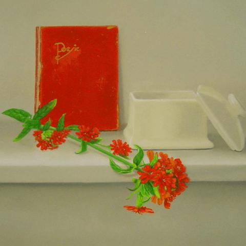 Poesiealbum en brandende liefde